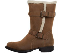 Board Angels Damen Mid Buckle Stiefel Braun