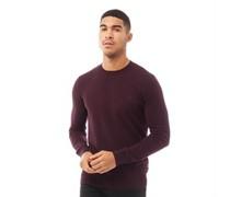 Bailey wear Pullover mit Rundhalsausschnitt Burgunder
