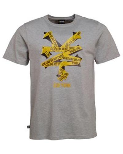 50 Line Logo T-Shirt Graumeliert