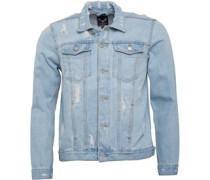 Mens Mjk-Bansby Denim Jacket Blue Denim