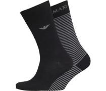 Herren Socken Schwarz
