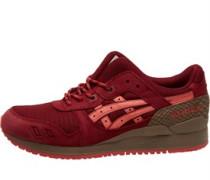 Gel Lyte III Trail Pack Sneakers Burgunderrot