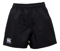 Canterbury Mens Professional Poly Twill Rugby Short Black
