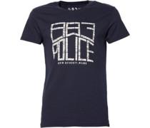 883 Police Herren Horton T-Shirt Blau