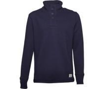 Onfire Herren Funnel Neck Sweatshirt Blau
