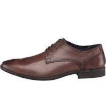 Ben Sherman Mens Roman Lace Shoes Brown