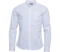 Oxford Hemd mit langem Arm Weiß