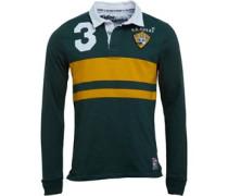Herren World Legends Rugby Polohemd Grün