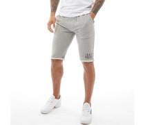 Spiral Jersey Shorts Schwarz