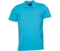 Herren Polohemd Blau