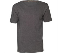 Herren T-Shirt Dunkelgraumeliert