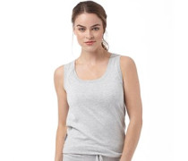 Damen Clair Top Graumeliert
