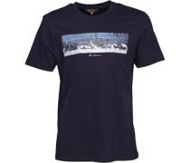 Herren Scooter Line Up T-Shirt Navy
