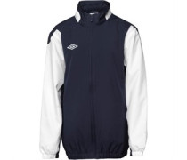 Umbro Junior Shower Jacket Dark Navy/White