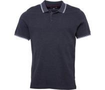 Mens Circle Jaquard Shirt Charcoal Marl