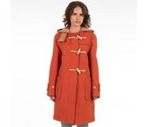 Gloverall Womens Monty Coat Burnt Orange Orange