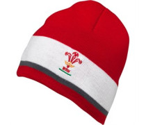 Canterbury Unisex Rugby World Cup WRU Wales Beanie Mütze Rot