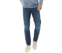 Weft Jeans in Slim Passform Dunkel