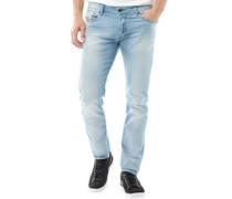 Herren Sleenker 0673E Skinny Jeans Leicht Steinwasch