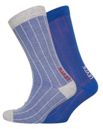 Birdseye Socken Blau