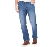 Lee Cooper Mens Basicon Jeans Mid Wash