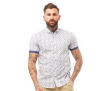 Piping Hemd mit kurzem Arm Blautöne