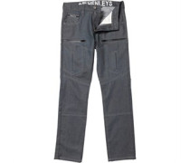 Henleys Herren Jeans in regulär Passform Grau