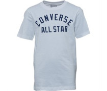 Converse Junior Boys All Star Classic T-Shirt White