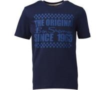 Ben Sherman Junior Printed T-Shirt Classic Navy