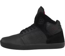 Supra Herren Atom Hi-Tops Sneakers Schwarz
