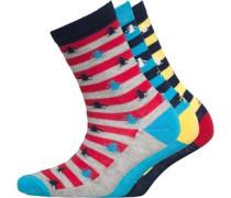 Original Penguin Jungen Pair Aspen GoldMalibu Socken Gestreift