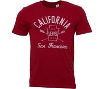 Levi's Herren Graphic T-Shirt Rot