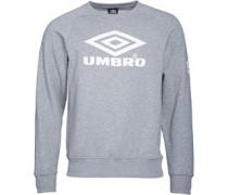 Umbro Herren Pro Classic Sweatshirt Grau