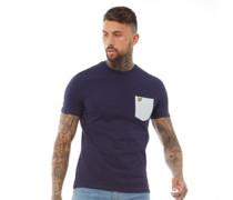 Contrast T-Shirt Navy