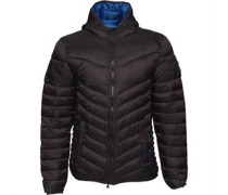 Diagon Steppjacke Schwarz