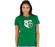 Damen IRFU Ireland Shield IRFU T-Shirt Grün