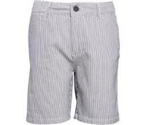 Jungen Seersucker Chino Shorts Navy