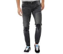 Herren Rally Skinny Jeans Schwarz