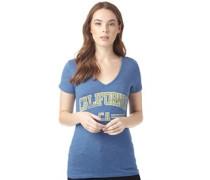 Damen Cali Sport T-Shirt Blaumeliert