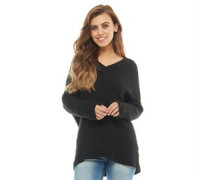 Solider 3/4 Pullover mit V-Ausschnitt