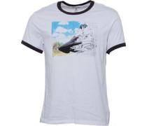 Herren Chucks Triple Ringer T-Shirt Weiß