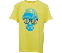 Jungen Skull T-Shirt Yellow