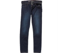 Crosshatch Herren Coleman Jeans in regulär Passform Blau