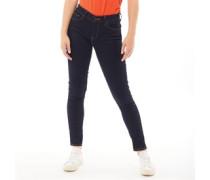 710 Super Skinny Jeans Dunkel Navy