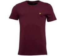 T-Shirt Burgundermeliert