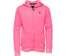 Hurley Junior French Terry Hoody Hyper Pink Heather