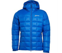 Berghaus Herren Popena Hydrodown Fusion Performance Jacket Blau