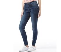 Damen Tiara Skinny Jeans Mittelblau