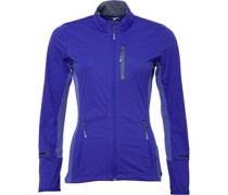 Damen Xperior Windproof Soft Shell Ski Performance Jacket Lila