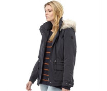 Only Damen Star Fur Parka Jacke Blau